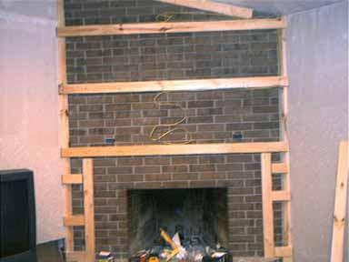 Dwnixon Cover A Brick Fireplace Electrical